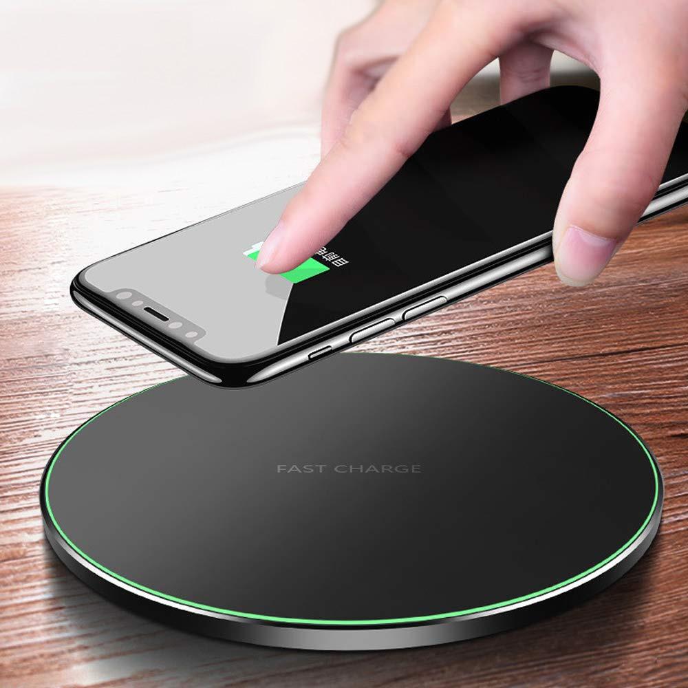 Qi 10W Drahtlose Ladegerät für iPhone Xs Xs Max Xr X 8 8 Plus Schnelle Drahtlose Aufladen Pad für samsung Galaxy S10 S9 S8 S7 Hinweis 20 9
