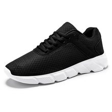 Summer New Casual Shoes Men Mesh Masculino Anti-Slip Lightweight Lace Up Shoes Men Breathable Fashion Walking Sneakers Man 2020