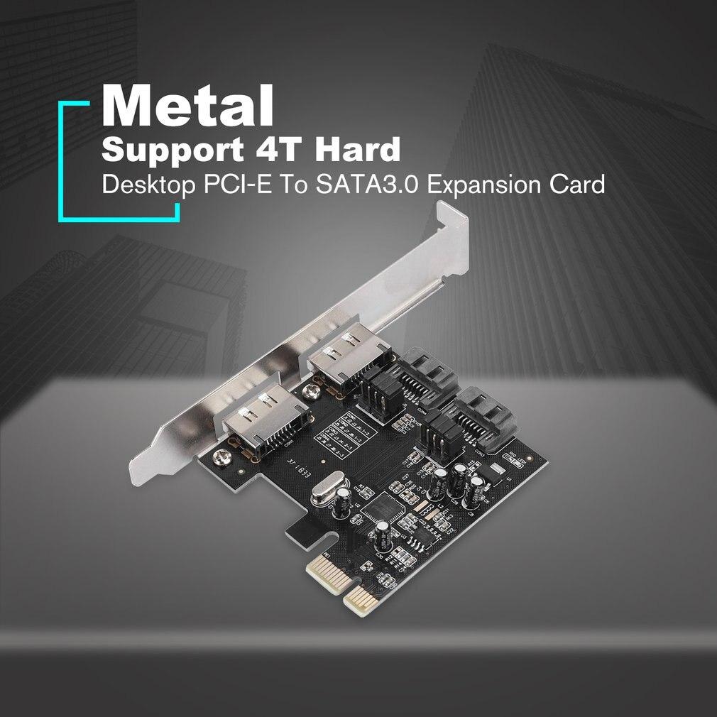 PCI-E To SATA3 PCI E SATA3.0 6Gb//s SSD Asmedia Chip Expansion Card ASM1061 EXP