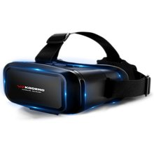 K2 3D Vr Очки виртуальной реальности Vr натуральная кожаная маска для глаз «умный» шлем Стерео игры кино боксы подходят для смартфона