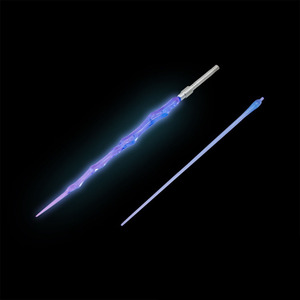 Lightsaber Luminescent Laser Weapon For 1/100 MG Gundam Robot Action Figure Model - Purple White Pink Green Blue(China)