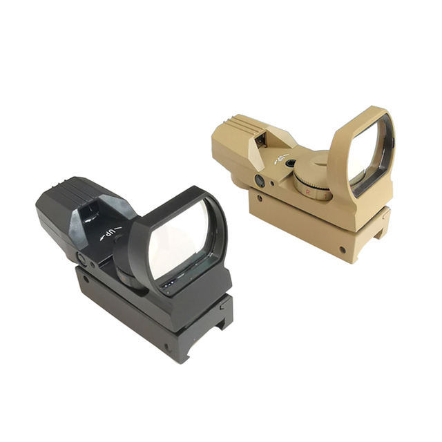 Tactical 11/20mm Red Green Dot Holographic Reflex Sight Optic Riflescope for Airsoft Air Gun Rifle Accessory Hunting  Caza 5