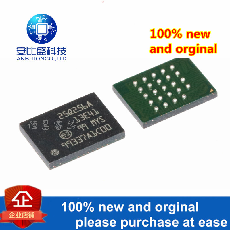 1pcs 100% New And Orginal N25Q256A13E1241E Silk-screen 25Q256A13E41 256Mbits In Stock