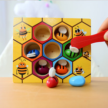 Bee Hive Board Games Entertainment Early Childhood Education Building Blocks Bee Toys Early Childhood Educational Wooden Toys bee hive board games entertainment early childhood education building blocks bee toys early childhood educational wooden toys