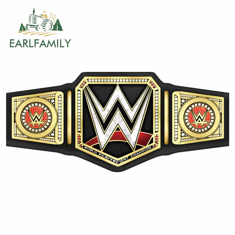EARLFAMILY 13cm X 6cm For Wwe Fine Car Stickers Waterproof Decal Vinyl Material Personality Creative Scratch-Proof Decoration