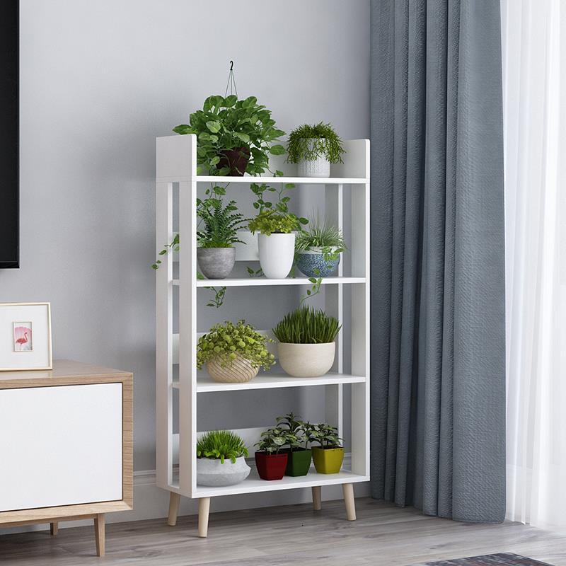 Wooden Garden Shelves For Plant Estanteria Terraza Repisa Para Plantas Stojak Na Kwiaty Outdoor Dekoration Shelf Flower Stand