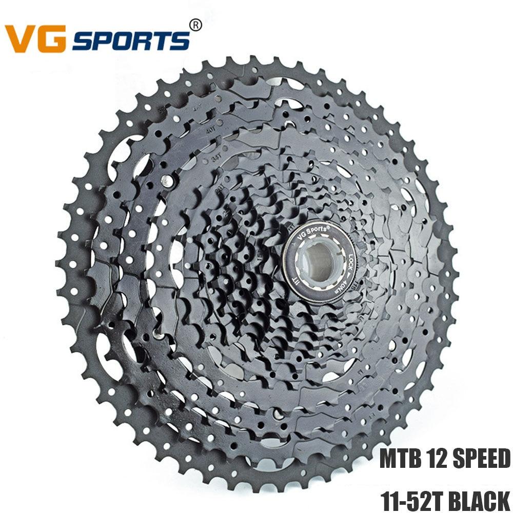 Road Bike Cassette Freewheel 12 Speed 11 52T Fixie cog cdg BLACK Sprockets for Shimano Sram 12 Velocidade 52T Flywheel VG Sports Bicycle Freewheel    - title=