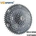 VG спортивный горный велосипед кассета 12 Скоростей 11-52 T вращающийся Freewheel Fixie COG совместим с Shimano Sram 12 Velocidade 11-52 T