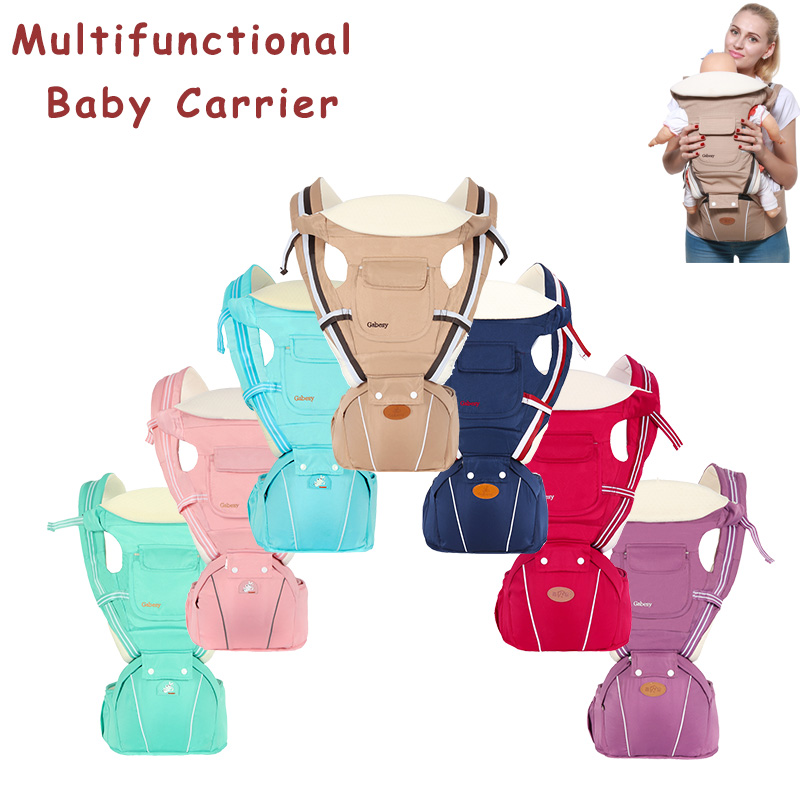 Ergonomic Carrier Backpack Baby Carrier Hipseat for newborn prevent o type legs sling Baby Kangaroo Carrier for new born|Backpacks & Carriers| |  - title=