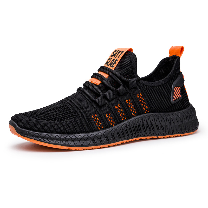 New Brand Summer Spring Classic EVA Men'S Sneaker Low-Cut Casual Flyweather Men'S Fashion Low To Help Fashion Men Casual Shoes