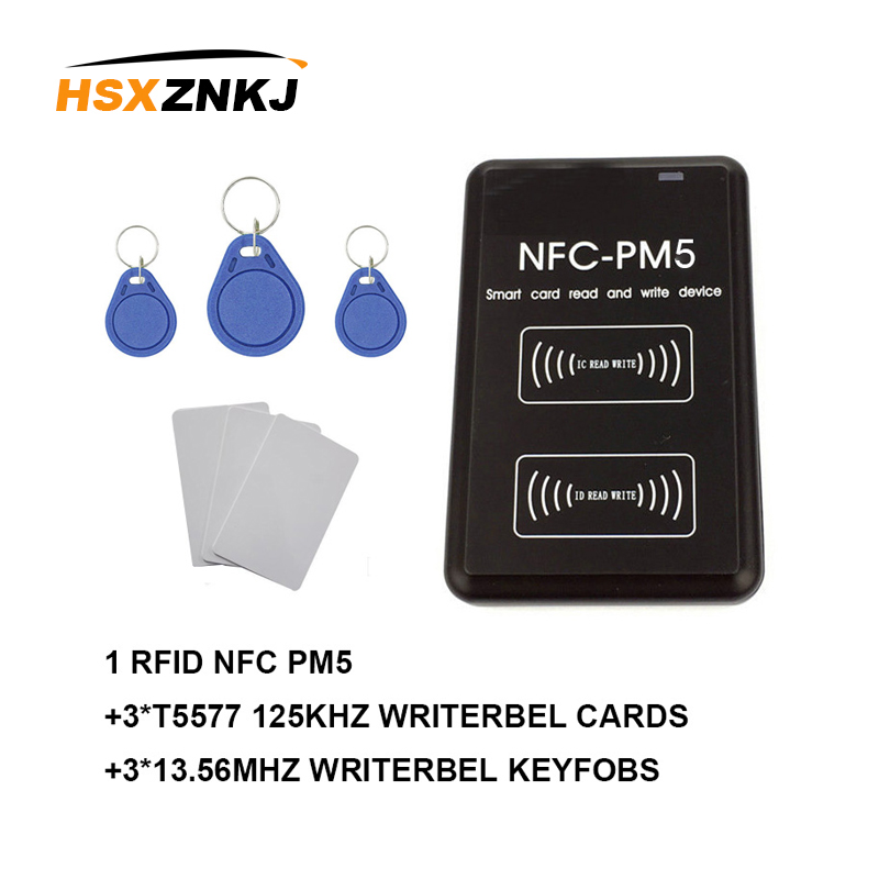 New PM5 Writer IC 13.56MHZ RFID Copier NFC Full Decoding Function Reader Duplicator