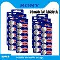 50 шт. Sony CR2016 3V литиевая батарея DL2016 ECR2016 LM2016 BR2016 CR 2016 Li-Ion кнопка батареи для монет для часов игрушки