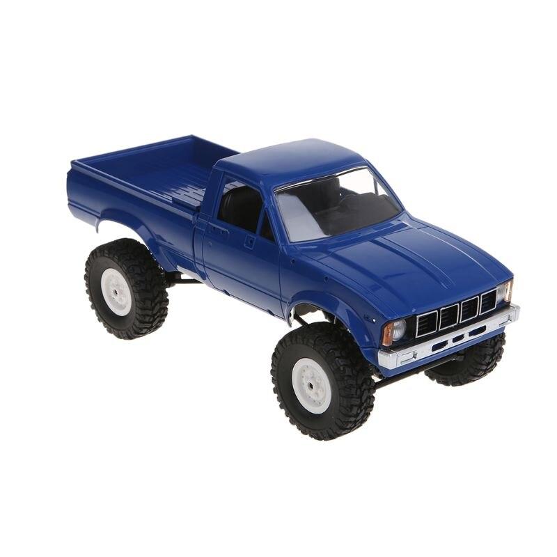 WPL C24 RC voiture 1:16 4WD télécommande 2.4G chenille tout-terrain Buggy Machine mobile enfants cadeau 72XC