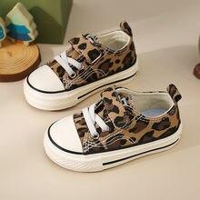 2021 nowe wiosenne dziewczęce dziecięce buty za kostkę Leopard oddychające dziecięce tenisówki damskie buty dziecięce dla rodziców dziecięce buty dla dziewczynki