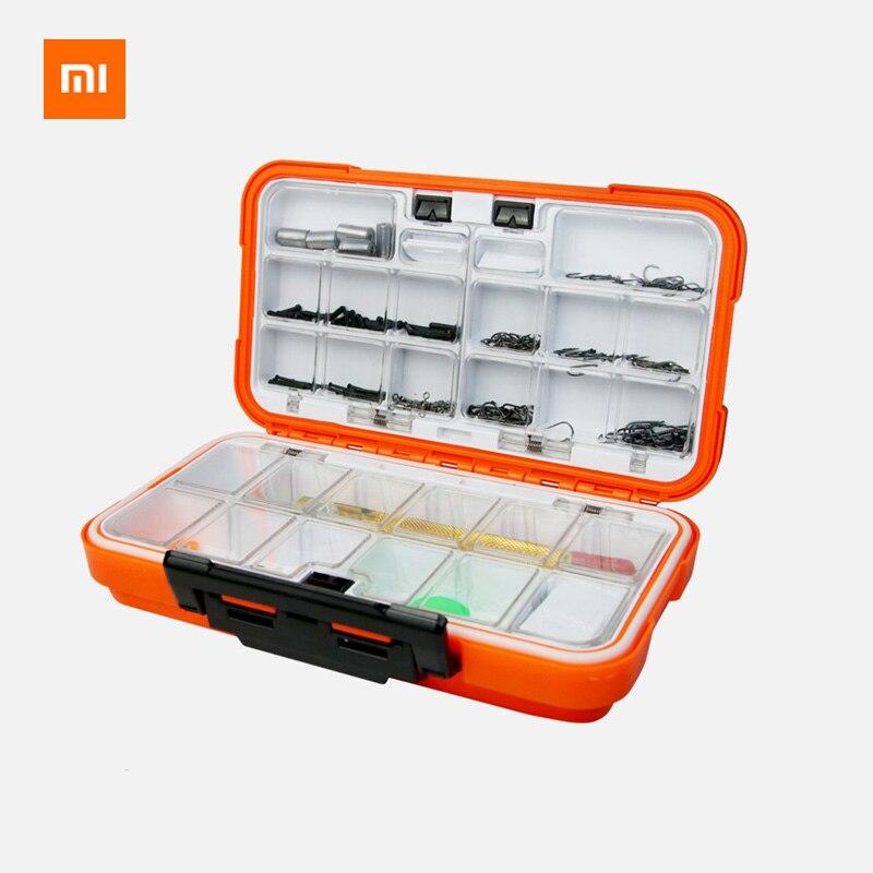 Xiaomi Youpin YEUX multi-fonction crochet à poisson accessoires ensemble étanche équipement de pêche ensemble poisson crochet pêche Gadget boîte