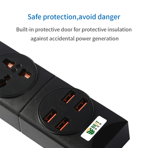 Image 4 - NTONPOWER Universal Power Strip 4 USB Charger Smart Home Electronic Socket EU Plug Extension cord For EU UK AU US