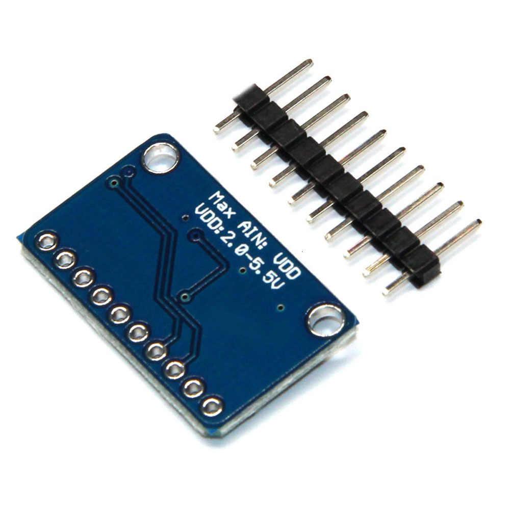 Ads1115 16 บิต 4 ช่อง I2c IIC อนาล็อก-ดิจิตอลความแม่นยำสูง ADC/PGA Converter Development BOARD สำหรับ Arduino 16 ไบต์ 1 Pcs