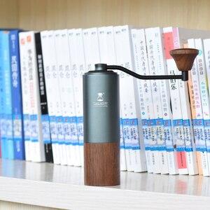 Image 2 - Tiemore kasztan G1 uchwyt młynek do kawy aerolite przenośny rdzeń szlifierski ze stali super ręczny młynek do kawy dulex łożysko