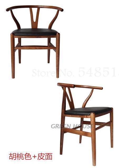 Wishbone  Y Solid Wood Chair 4