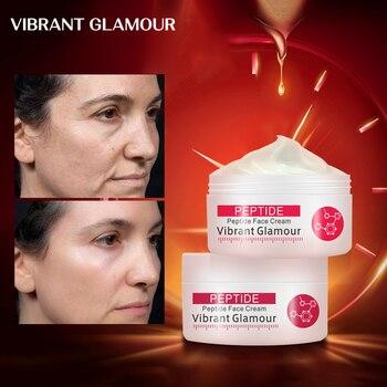 VIBRANT GLAMOUR Collagen Anti-Wrinkle Whitening Facial Cream Anti Acne Oil Control Shrink Pores Anti Wrinkle Face Care Cosmetics premium jet cosmetics anti acne care фитопудра для массажа тела 150 г