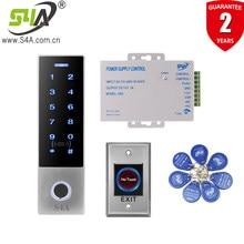 S4A 2000 fingerprint Metal IP68 Waterproof Fingerprint Standalone Door Access Control System With 13.56MHZ IC Card Reader