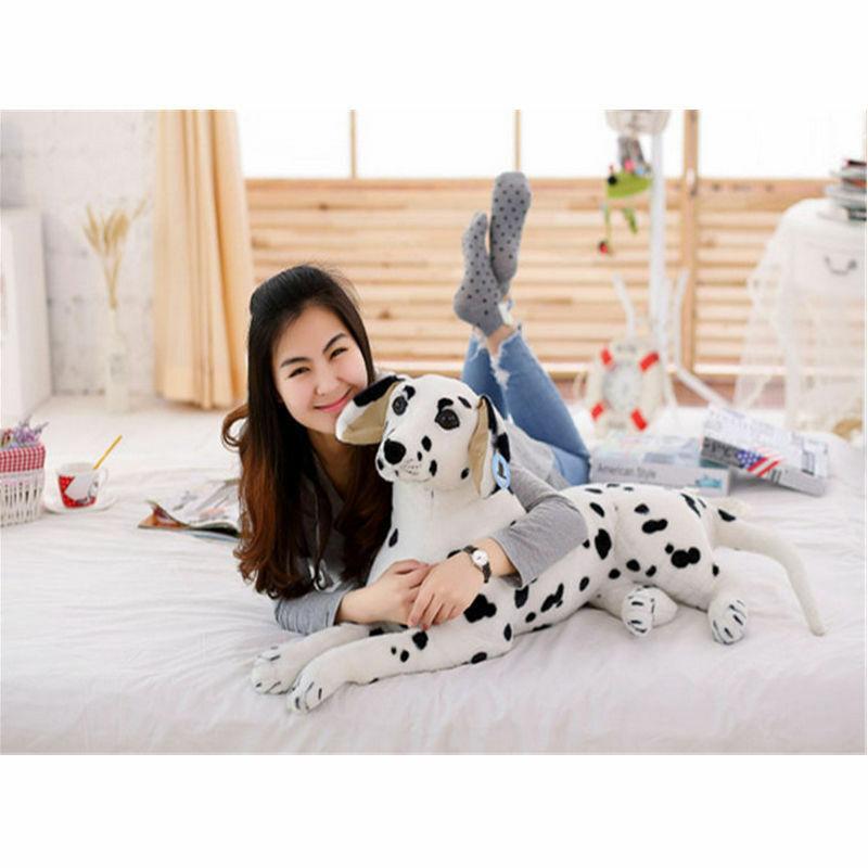 88CM Puppy Dog Mascot Doll Plush Dalmatians Toy Stuffed Animals Alive Soft Gift