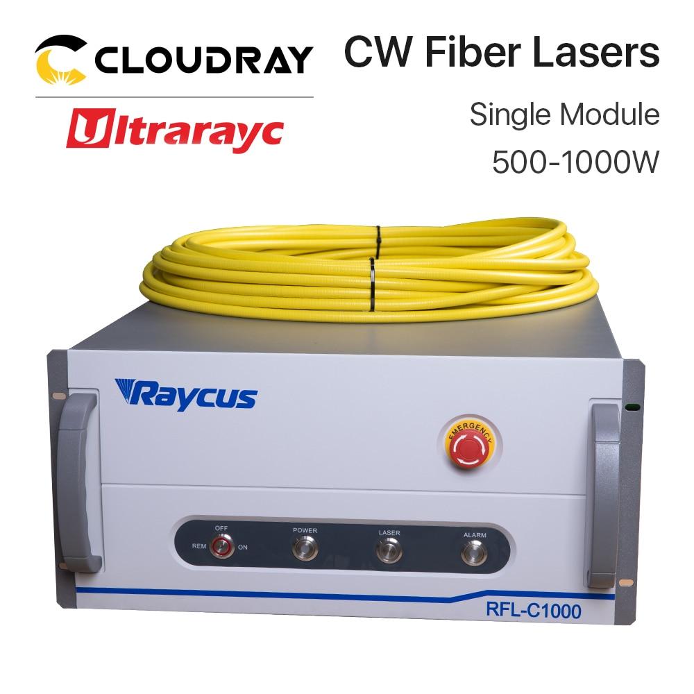 Ultrarayc Raycus Fiber Lasers Source Single Module 500W 750W 1000W 1064nm For Fiber Cutting Machine RFL-C500 RFL-C1000