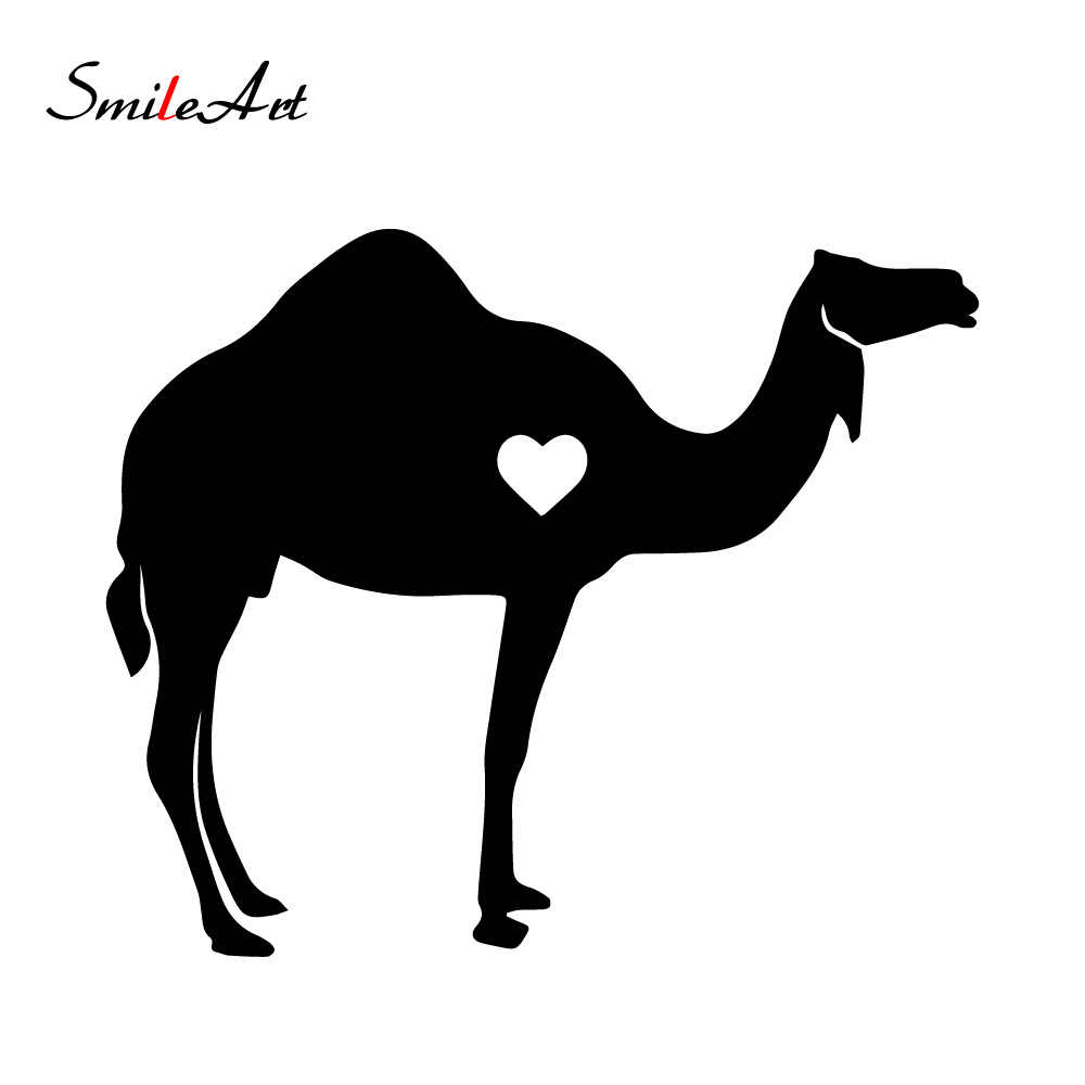 Cartoon Camel Auto Stickers On The Car Funny Window Vinyl Decals Car Styling Self Adhesive Emblem Car Stickers Car Stickers Aliexpress
