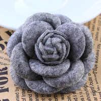 Ich-Remiel High-end-Koreanische Mode Neue Stoff Blume Bogen Brosche Strickjacke Seide Schals Schnalle Pin für Frauen der Kleidung Zubehör