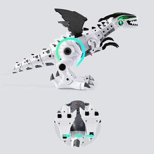 Großen Spray Dinosaurier Roboter Pterosaurier Cartoon Fuß Schaukel Tier Modell Elektronische Intelligente Dinosaurio Spielzeug Geschenk Für Kinder