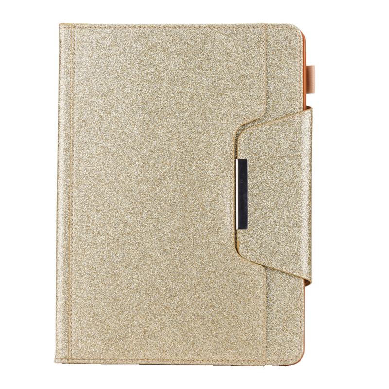 Gold Blue Cover For iPad 10 2 inch 2019 Glitter Bling Leather Funda Case For Coque iPad 10