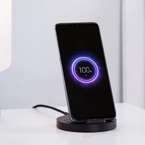 Image 4 - Xiaomi mijia הרשמי שדרוג אלחוטי תשלום מהיר 20W מקסימום סטריאו מטען עבור iPhone סמסונג huawei redmi נייד טלפון אוניברסלי