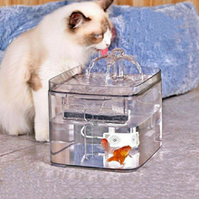 3L Automatic Cat Fountain Pet Water Dispenser LED Electric Drink Fountain for Dogs Cat Feeder USB Powered Drink Filter. automatic electric beverage dispenser drink separator