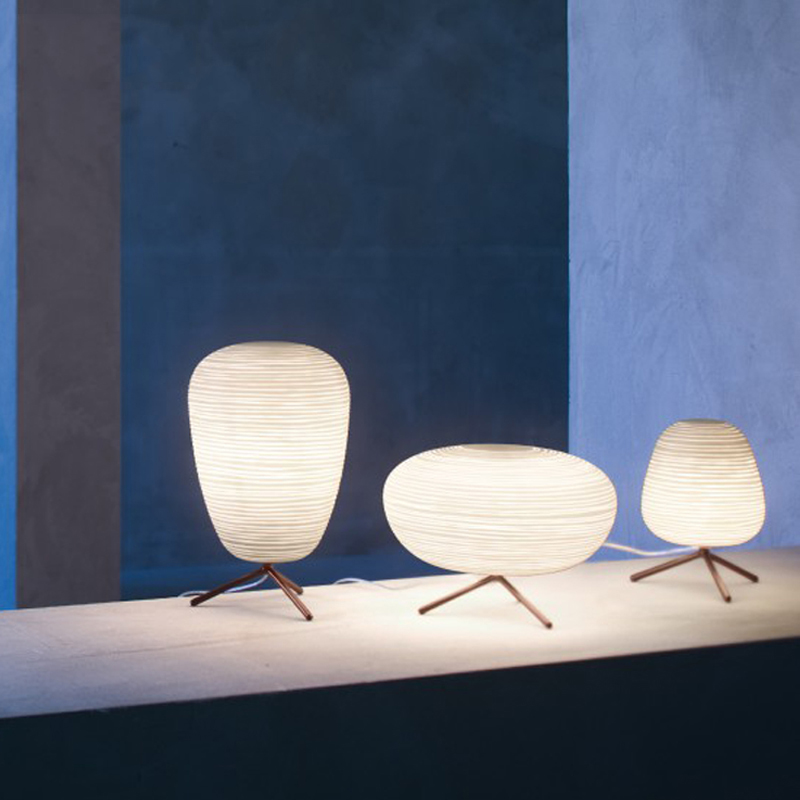 Nordique Post moderne individuel lunettes vis lampe de Table Led blanc chaud Simple salon chambre chevet étude maison décorative