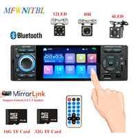 LTBFM Autoradio 1 Din Radio samochodowe JSD-3001 4.1 MP5 samochodowy odtwarzacz ekran dotykowy samochodowy zestaw stereo bluetooth 1Din Radio samochodowe kamera lustro Link