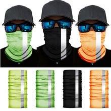 4 шт светоотражающие банданы повязка на шею голову Велоспорт