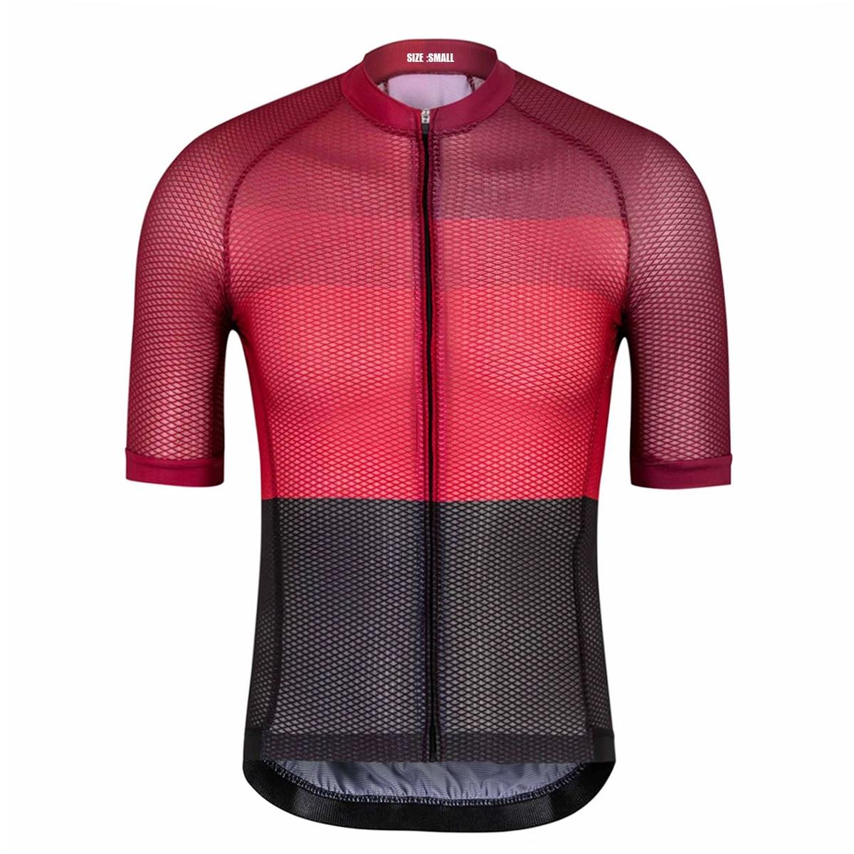SPEXCEL 2019 New Climber's Summer Short Sleeve Cycling Jerseys Road Mtb Cycling Shirt Aero Fit Open Cell Mesh Fabric Custom