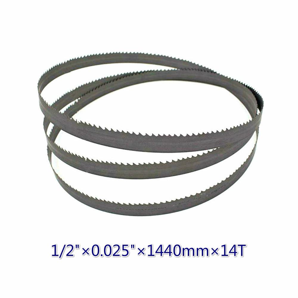 13*0,65*1440 * 14tpi M42 Durable New Bimetal Band Saw Blades 56.7
