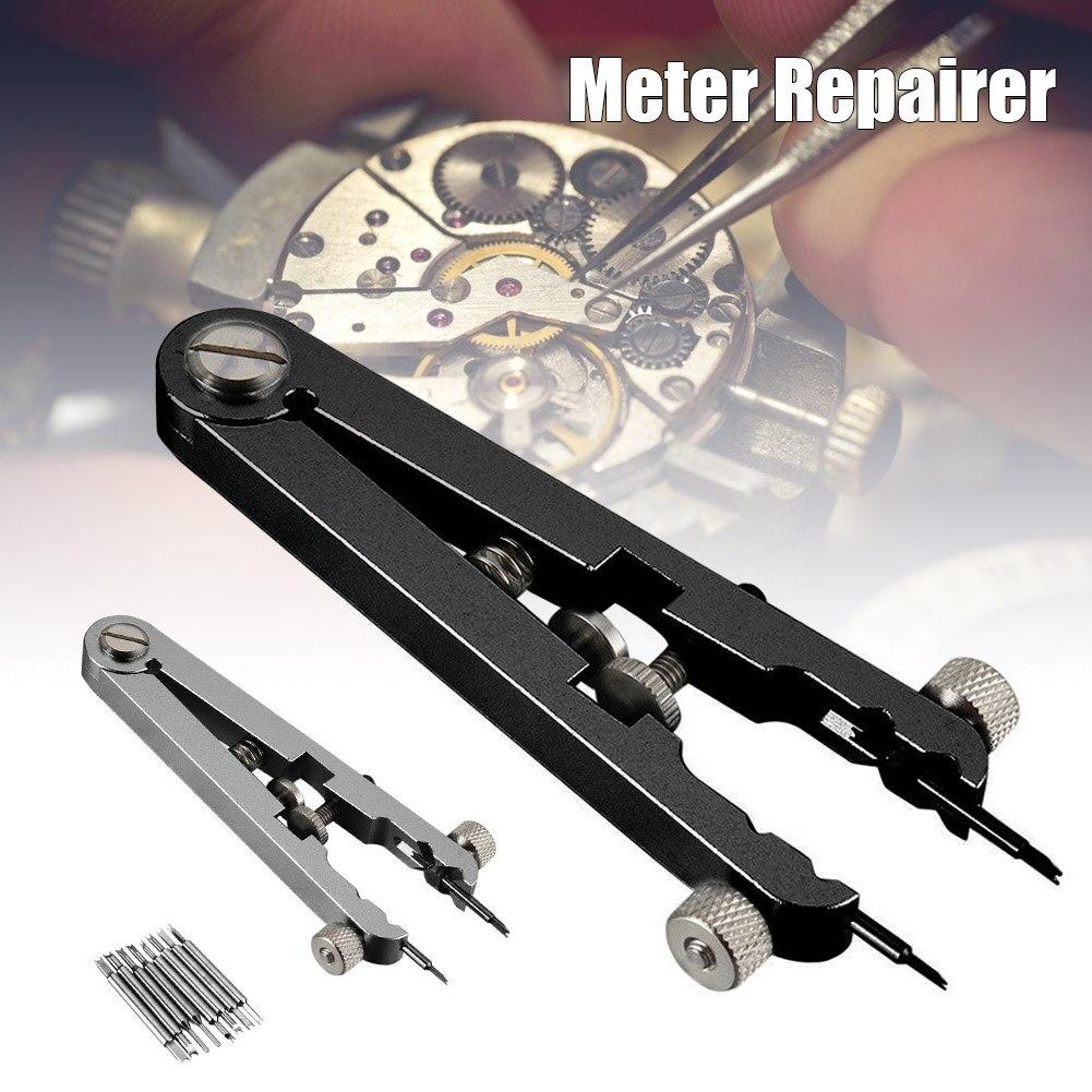 8 pinos + Relógio Pulseira Padrão Alicate Alicate de Remoção de Faixas de Relógio Primavera Bar Removedor Repair Tool