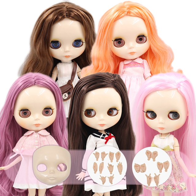 ICY DBS Blyth doll No.2 glossy face white skin joint body 1/6 BJD special price ob24 toy gift