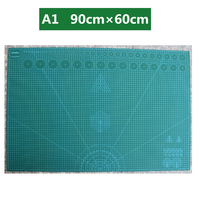 A1 90×60cm Double sided Self healing Plate Cutting Pad Patchwork Mat Artist DIY Manual Sculpture Tool Home Supply Carving Board