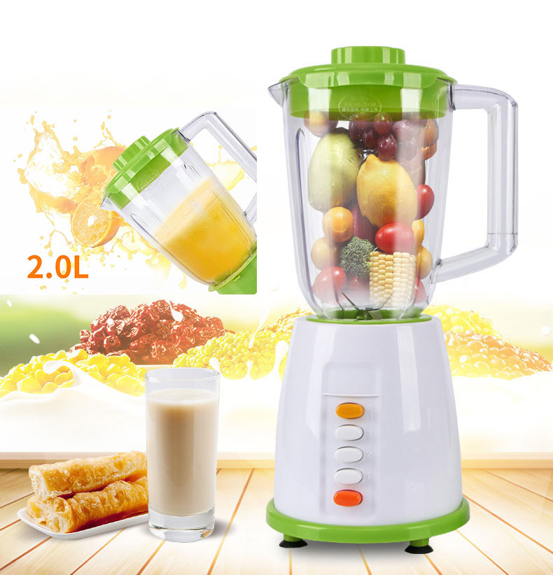 BPA FREE 800W Commercial Blender Food Processor 2 Group Blade Juicer Smoothie Machine Egg Beater Meat Grinder