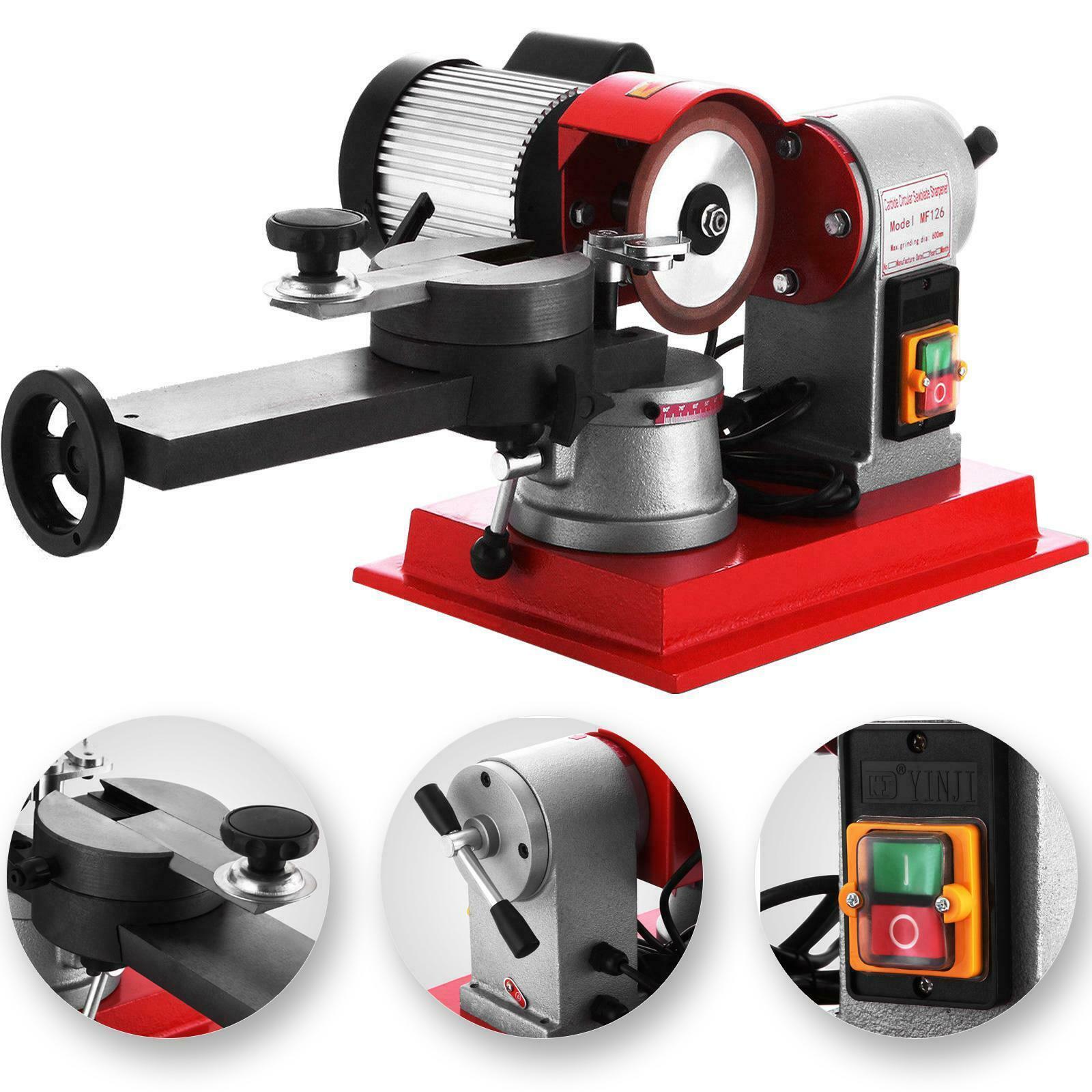 VEVOR Circular Saw Blade Grinder Sharpener Machine Heavy Duty Mill Grind Carbide