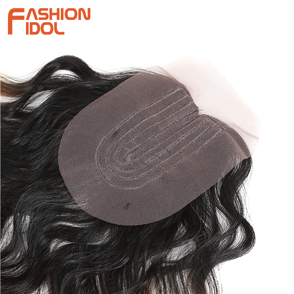 Natural cabelo sintético onda do corpo pacotes