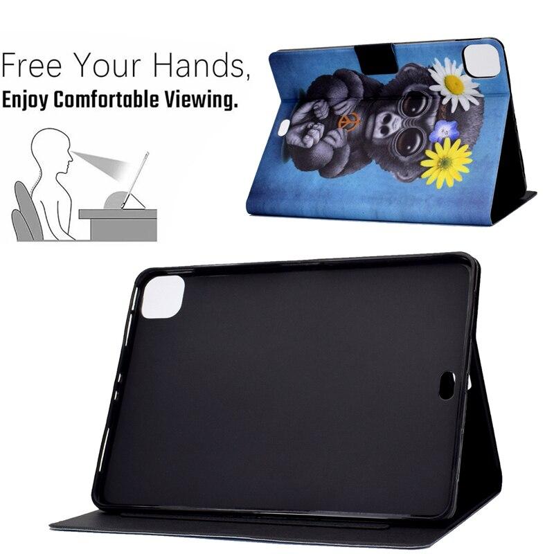 Ipad For Thin Cartoon 10.9 Cover 2020 For inch Apple 4 Bear IPad Leather Air4 Case Air