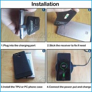 Image 5 - Qiไร้สายชาร์จสำหรับSamsung Galaxy S8 S9 S10 S20หมายเหตุ8 9 10 Plus A6 A8 A40 A50 A60 a70s Charger Micro USBประเภทCตัวรับสัญญาณ