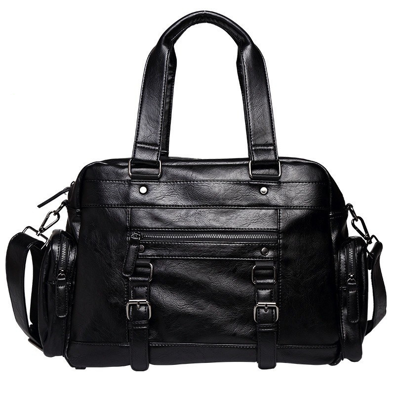 Hot Business Briefcase Men's Bag Skin Cross-section Handbag Men Shoulder Messenger Bag Package Computer Bag