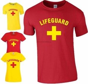 Cankurtaran + T gömlek Baywatch yüzme parti ilk yardım fantezi kostüm erkek bayanlar