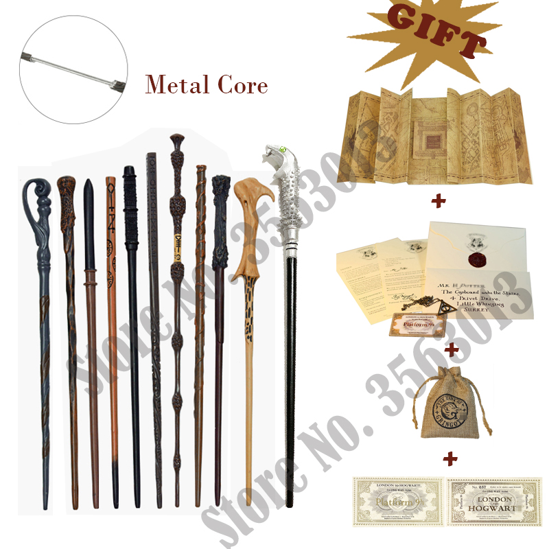 2020 New 35 Styles Original Core Magic Wands Multichoice Weasley Newt Cosplay Gift Collections Without Box