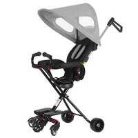 Kinder Tragbare Trolley Klapp Baby Trolley Baby Warenkorb 1-3Years Alt Können Sitzen Und Walk Baby Artefakte